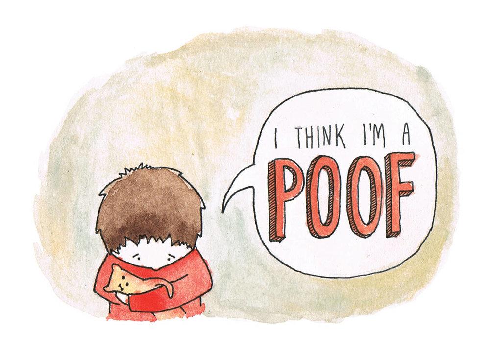 i think i'm a poof -