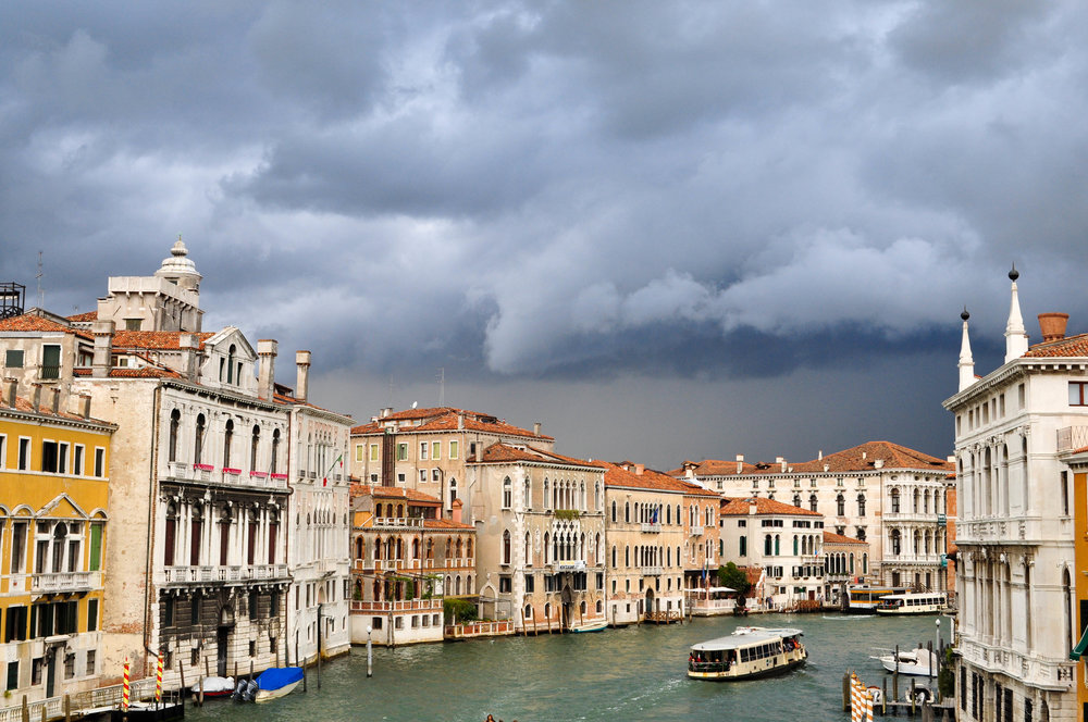 Storm brewing in Venice, Italy 2011