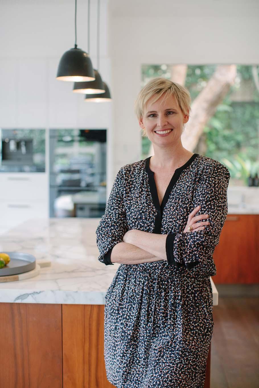 LinkedIn avatar photo in modern kitchen