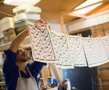 Inspiration papier dominoté - Atelier Poulaillon