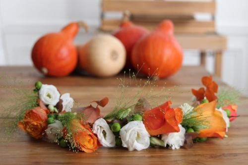 Nos ateliers se parent des couleurs chaudes de l'automne