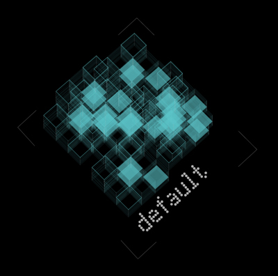 Default is an interdisciplinary network of artists, architects, designers, and musicians located in Greece. Fusing individual creative tensions through synergy, default aims at bringing together various fields of art. Our purpose is to promote and support what we like in an unconditional level.