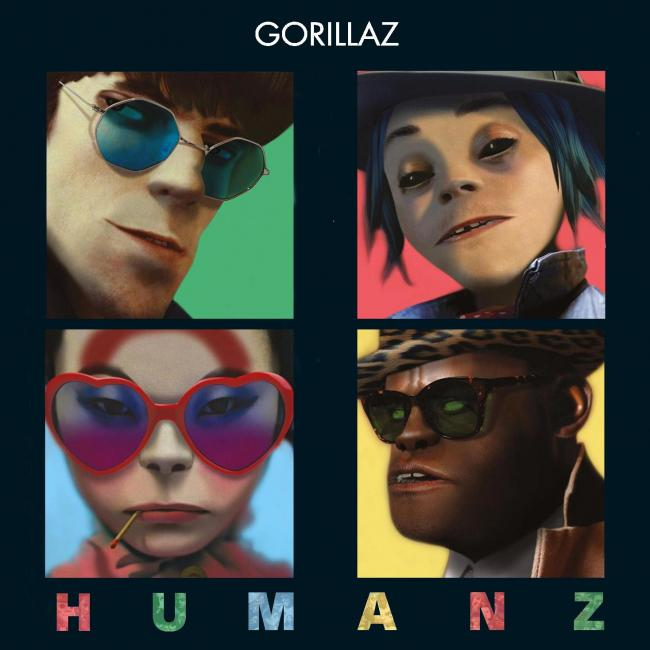 Gorillaz  Humanz (Parlophone)