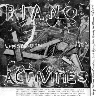Philip Corner  Piano Activities (Alga Marghen)