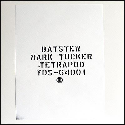Mark Tucker – Batstew (De Stijl)