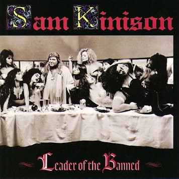 Sam Kinison ‎– Leader Of The Banned (Warner Bros. Records)