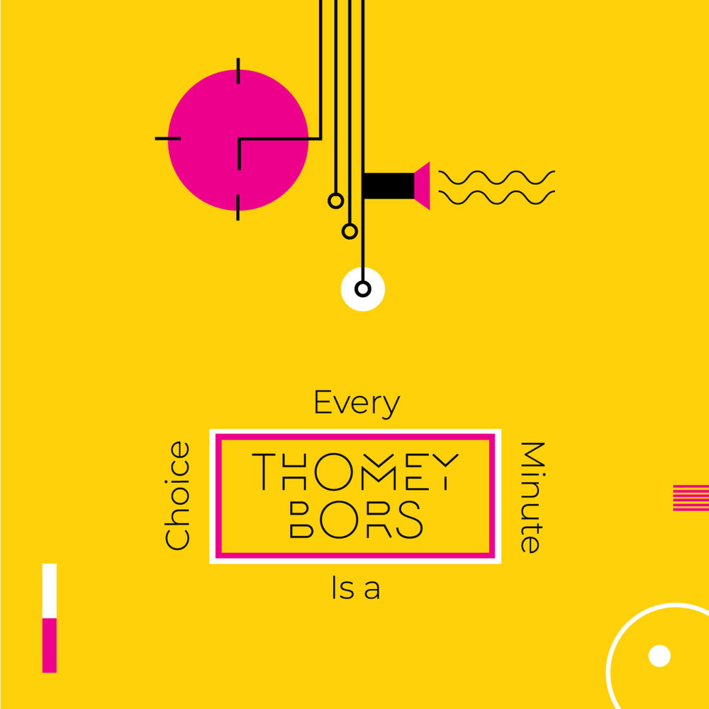 Thomey Bors - Every minute is a choice (Logarithm Cassette Label)