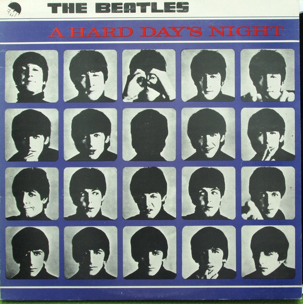 The Beatles ‎– A Hard Day's Night (ΕΜΙ)
