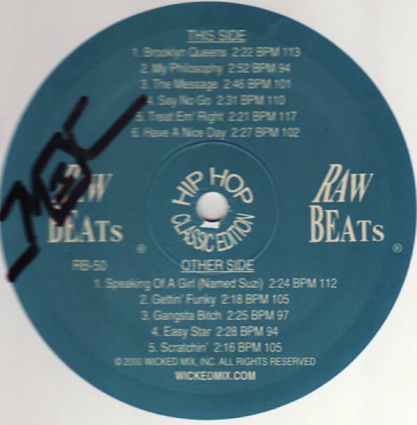 Raw Beats–Raw Beats 50 Hip Hop Classic Edition  (Raw Beats)