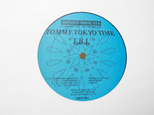 Tommy Tokyo Time–F.B.I. (Haunted House Records)
