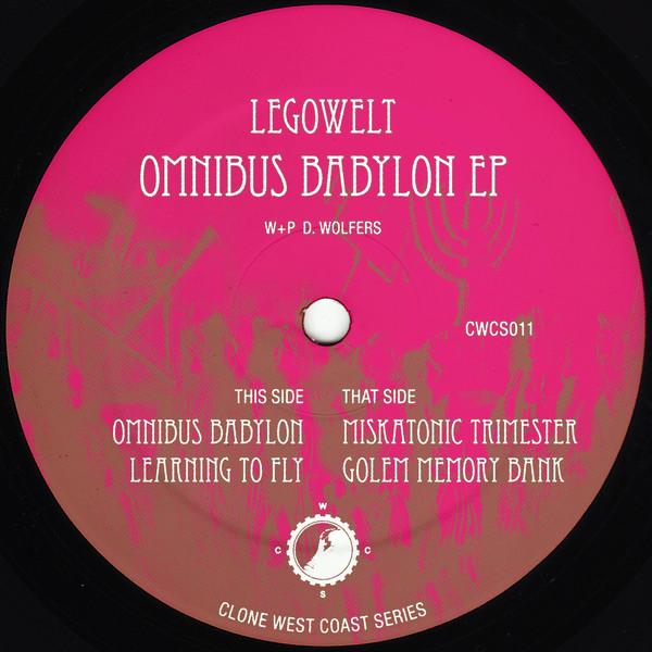 Legowelt–Omnibus Babylon EP (Clone West Coast Series)