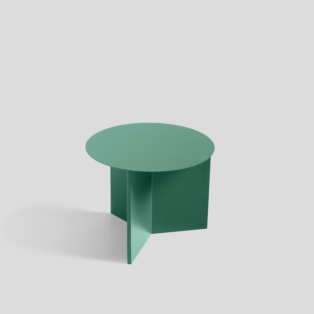 Round - Green Powder Coated