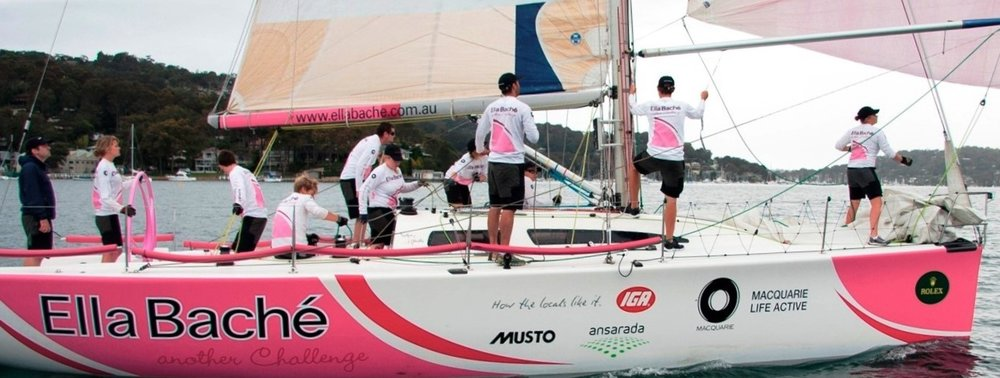 Training with my 2011 youth Rolex Sydney to Hobart crew, the youngest ever team to compete in the notorious race.