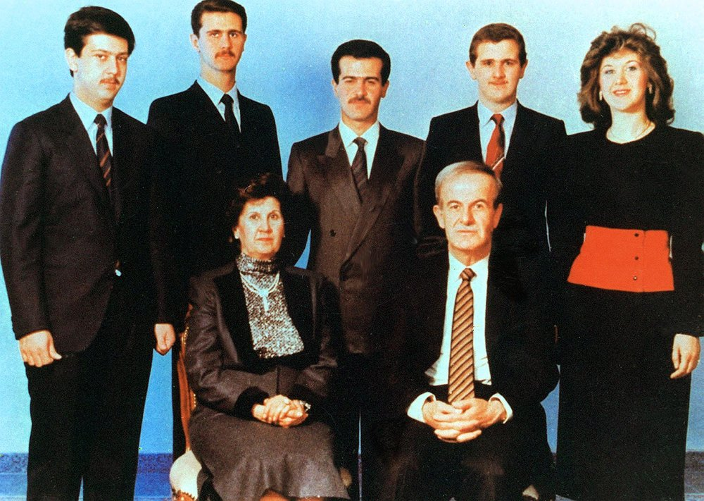 LS1648M Getty Assad family group photo c1990 126341762.jpg
