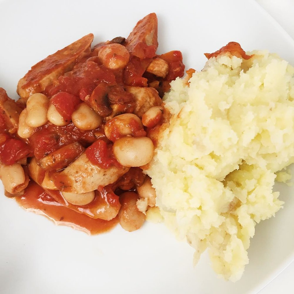Hearty Casserole - Warming winter dish packed full of protein