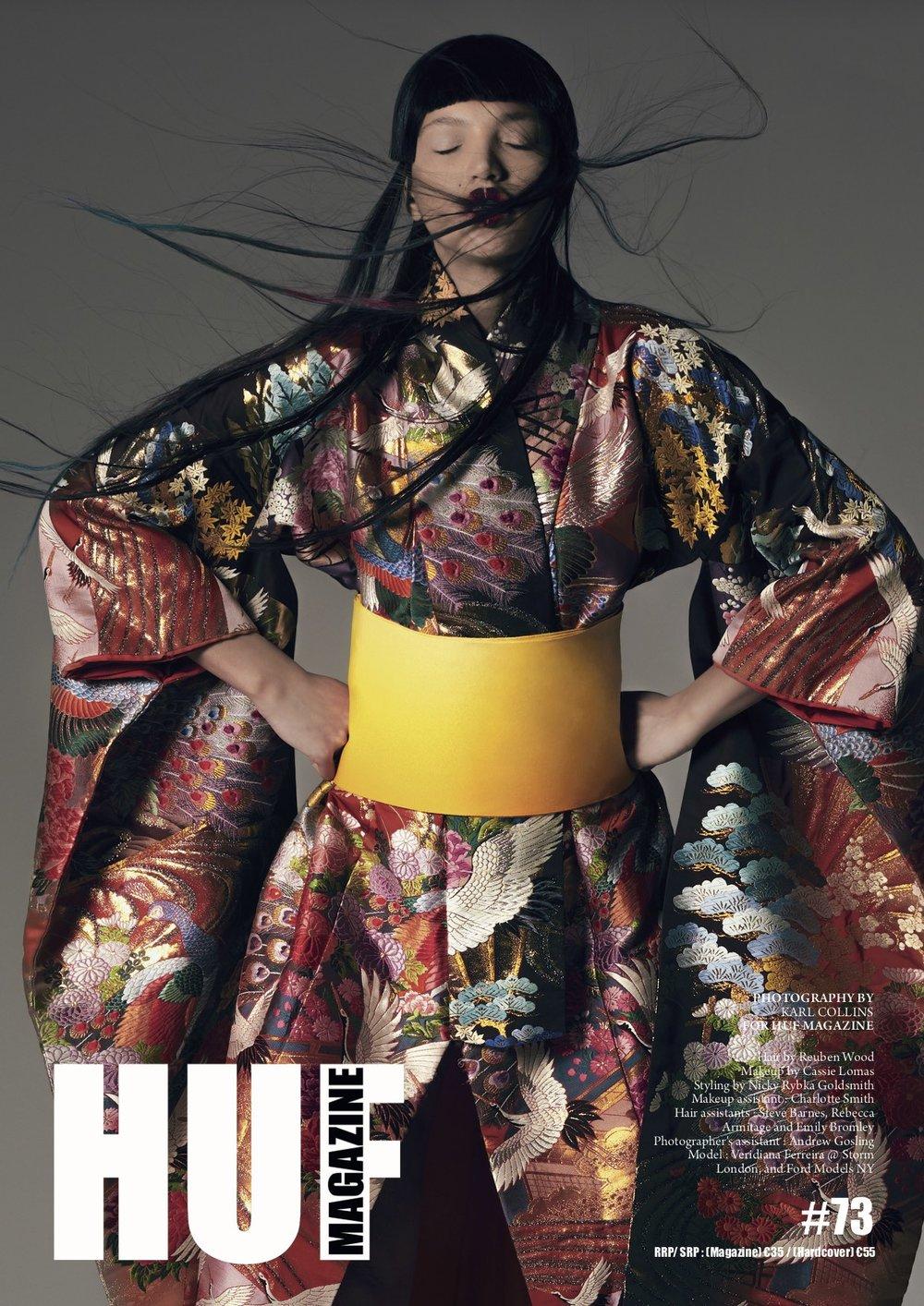 Cassie Lomas: HUF Magazine