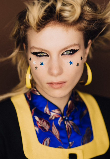 Vogue Italia Cassie Lomas Makeup Artist