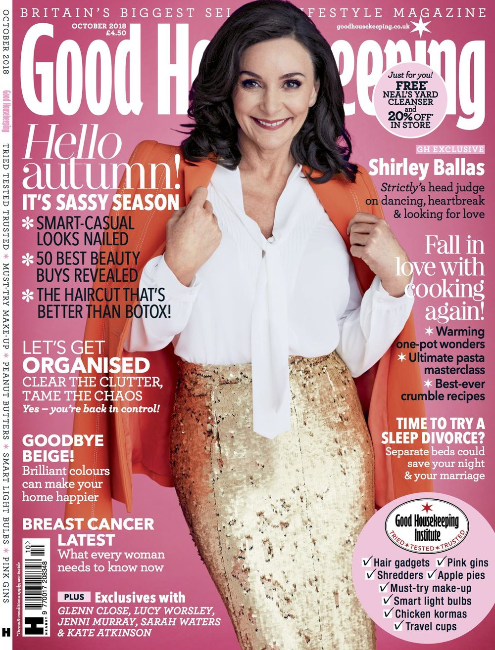 Cassie Lomas Shirley Ballas Good Housekeeping