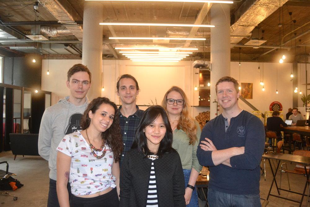 meet my super cool colleagues!