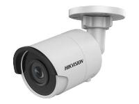 IP Bullet kamera - HIKVISION DS-2CD2055FWD-I(2.8mm) 5MP Mini Bullet H.265+ 30m EXIR IR 120dB WDR IP67 IK10Beskrivelse:Hikvision Network Bullet Camera DS-2CD2055FWD-I - Nettverksovervåkingskamera - farge (Dag og natt) - 5 MP - 2560 x 1920 - M12-montering - fastfokal - LAN 10/100 - MJPEG, H.264, H.265 - DC 12 V / PoEProduktnavn:DS-2CD2055FWD-IPris: Kr. 1 800,- eks. mva. ( 2 250,- inkl. mva)