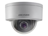 IP PTZ kamera - HIKVISION DS-2DE3204W-DE 2MP Mini PTZ 2.8mm lens 1/2.8 inch CMOS 1920x1080 H.264/H.265Beskrivelse: Hikvision Network Mini PTZ Dome Camera DS-2DE3204W-DE - Nettverksovervåkingskamera - PTZ - utendørs - hærverks- / værbestandig - farge (Dag og natt) - 2 MP - 1920 x 1080 - 1080p - motorisert - lyd - LAN 10/100 - MJPEG, H.264, H.265 - DC 12 V / PoEProduktnavn:DS-2DE3204W-DE Pris: Kr. 3 400,- eks. mva. ( 4 250,- inkl. mva)