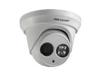 Hikvision DS-2CD2342WD-I - Nettverksovervåkingskamera - kuppel - utendørs - værbestandig - farge (Dag og natt) - 4 MP - 2688 x 1520 - M12-montering - fastfokal - LAN 10/100 - MJPEG, H.264 - DC 12 V / PoE