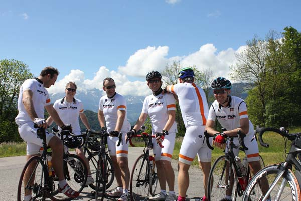 Bespoke Cycling Holiday RAID Alpine