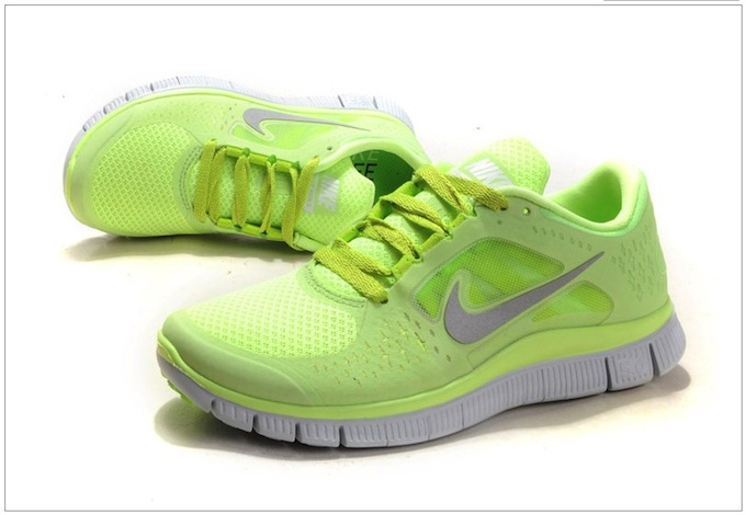 Nike_Free_Run_3_Womens_Size_8.5_Fluorescence_Yellow