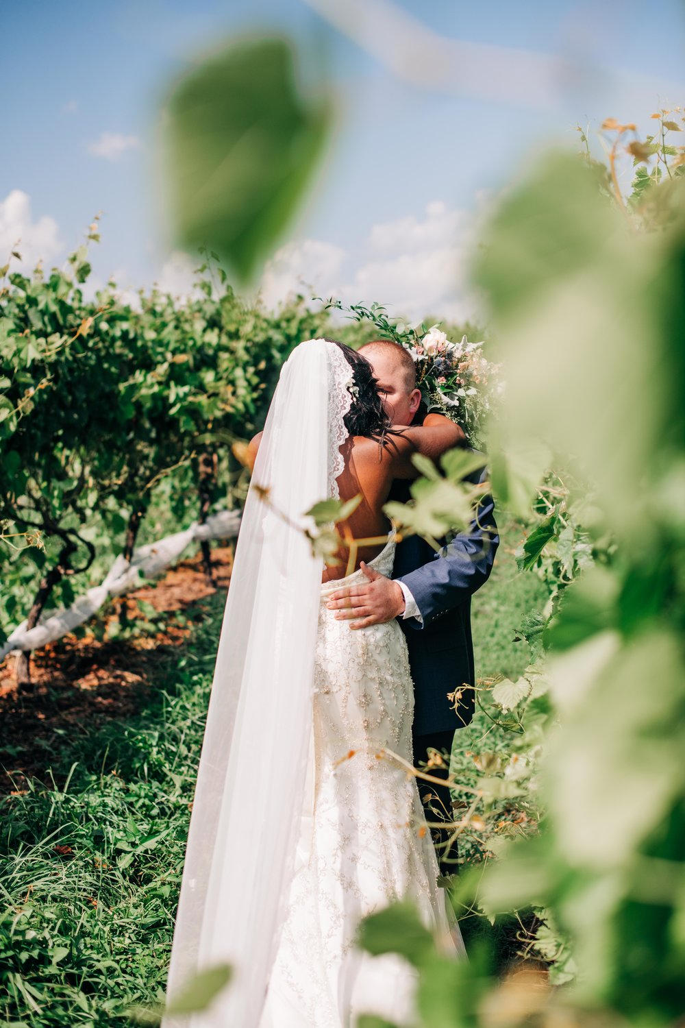 Linganore Winecellar Wedding | Winery & Vineyard in Maryland | Local & Destination Wedding Photography | Landrum Photography, LLC