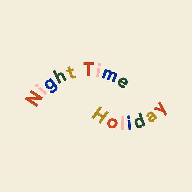 I've been working with Brooke, the lovely lady behind @nighttimeholiday, for the past few weeks to give the brand a whole new look in conjunction with it's web-store launch today. I can't tell you how excited I was to be asked to be on board with designing for Night Time Holiday, a brand I absolutely love. —  NTH is an independent handmade jewellery brand, selling the most beautiful earrings in a whole array of shapes, patterns and colours. We used this as the basis for the new identity, taking key stylistic elements and turning them into key branding elements alongside a fun & fluid logo-type. —  #graphicdesign #identitydesign #branding @welovebranding #itsnicethat #visualgraphc #designdaily #manchester #mcr #designforprint #brandidentity #digitaldesign