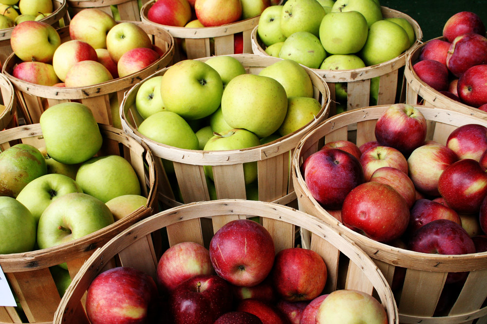 Apples are a healthy choice!