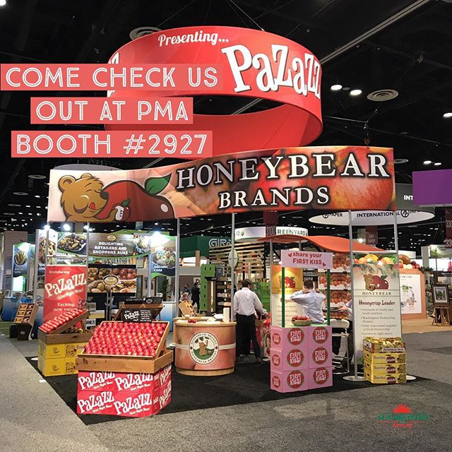 It's that time of year again! We are down in Orlando at the PMA Fresh summit with our partners Honeybear Brands talkin Pazazz! Stop by booth 2927 for samples! #Pazazz #wowrightnow #freshsummit