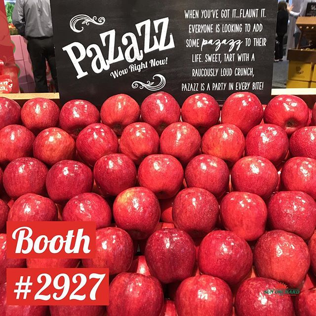 Live is better with Pazazz  #wowrightnow #freshsummit #apples