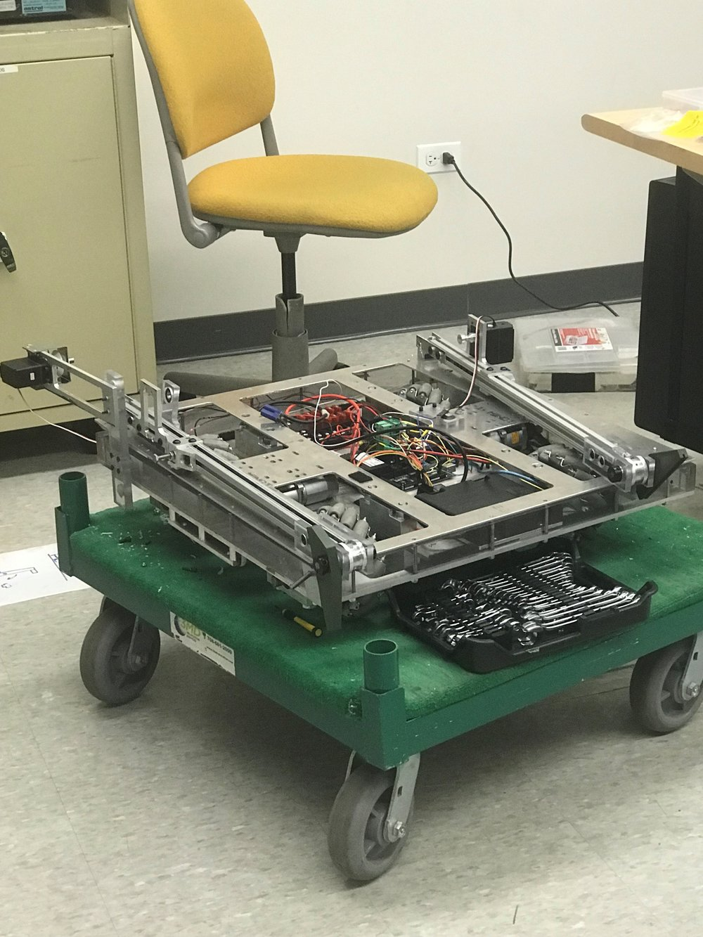 COD Robotics Team creation, Scoot