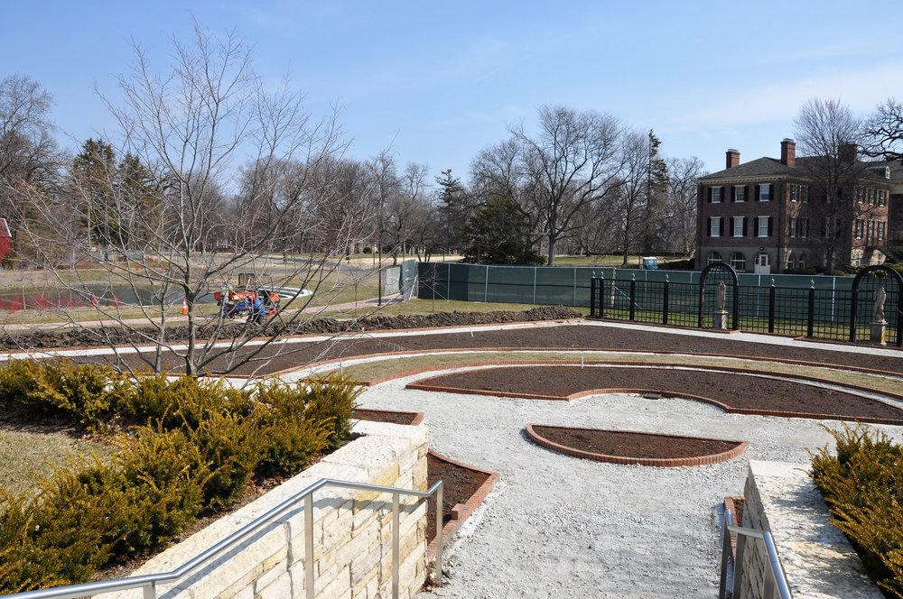 Cantigny's Lower Display Garden renovation nearing completion just in time for summer (photo courtesy of Jeff Reiter/Cantigny)