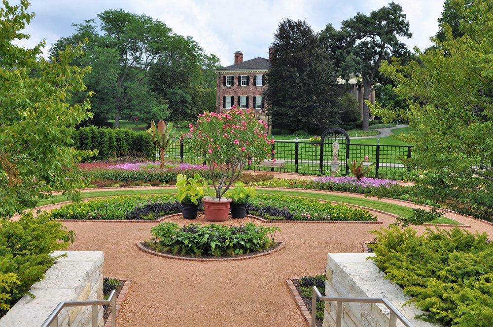 Cantigny's Lower Display Garden (photo courtesy of Cantigny)