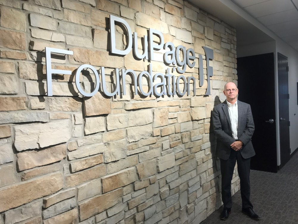 DuPage Foundation CEO Dave McGowan