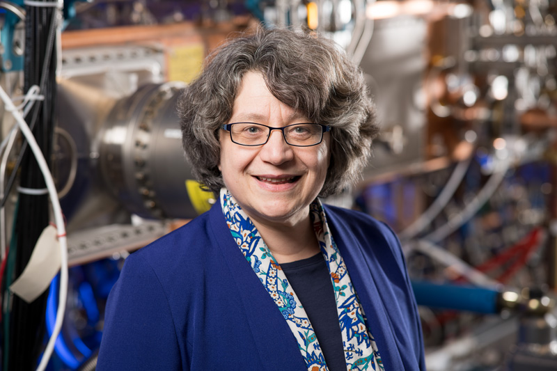 PIP-2 Project Director Lia Merminga will oversee the construction of a new accelerator at FermiLab (photo courtesy of Fermi Lab)