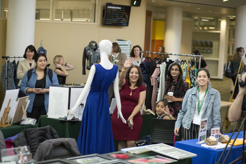 Young Entrepreneurs find customers and test their business ideas at the College of DuPage Makers Market. This year's market is set for Wednesday (April 10) at the Glen Ellyn Community College