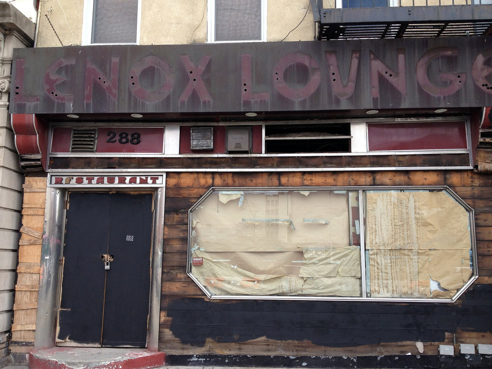 Lenox Lounge, Mythical place, once upon a time...Harlem, NYC