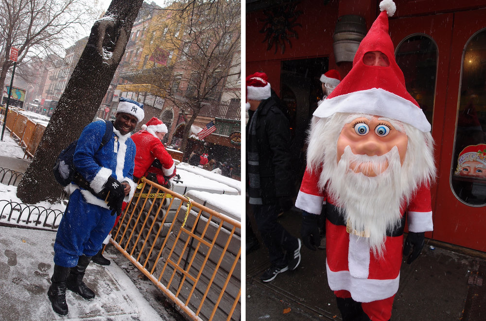 SantaCon, Lower East Side, NYC