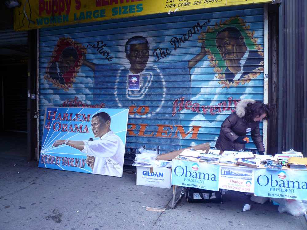 Harlem 4 Obama, Harlem, NYC