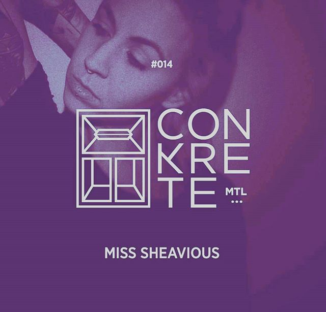 Oh Yes! January 6th is approaching fast and this fire cracker is coming in to blow us away! If you haven't checked out her #ConkreteTape yet, now is the time!! #MissSheavious is east bound to tear it down!! Catch the mix directly from our website to get you all warmed up for the big day ♡ 🔥🔥🔥🔥🔥🔥🔥🔥🔥🔥🔥 WWW.CONKRETEMTL.COM  #conkretemtl #Newspeakmtl #House #electro #bass #mixtape #freshrelease #misssheavious #white #aeiou #mbp #santi