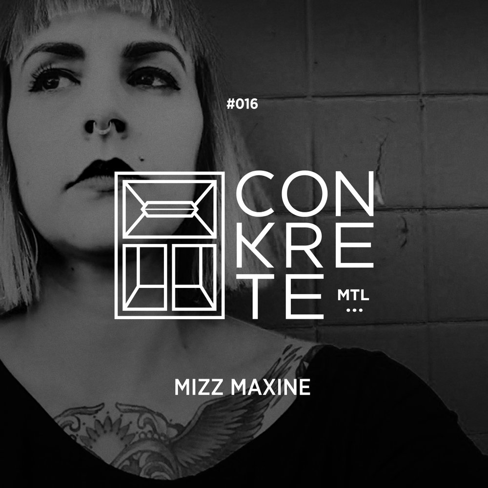 The Conkrete Tapes // 016 - Mizz Maxine - Ladies, gents & bass heads alike; it is with a ton of pride a much anticipation that we get to finally present to you our next edition. Ever since we first we first laid our ears on one of her live sets several years ago, we've been dying to get her on our decks. She's not only one of the original bass mavens of eastern Canada but also, and by far, one of the best DJ's we have ever had the privilege to experience. Finally after a nearly two year hiatus, the eagerly awaited return of the one and only Mizz Maxine <3Do yourselves a favor and catch her big live return with us May 19th at Newspeak!!The Conkrete Tapes // 016 - Mizz Maxine