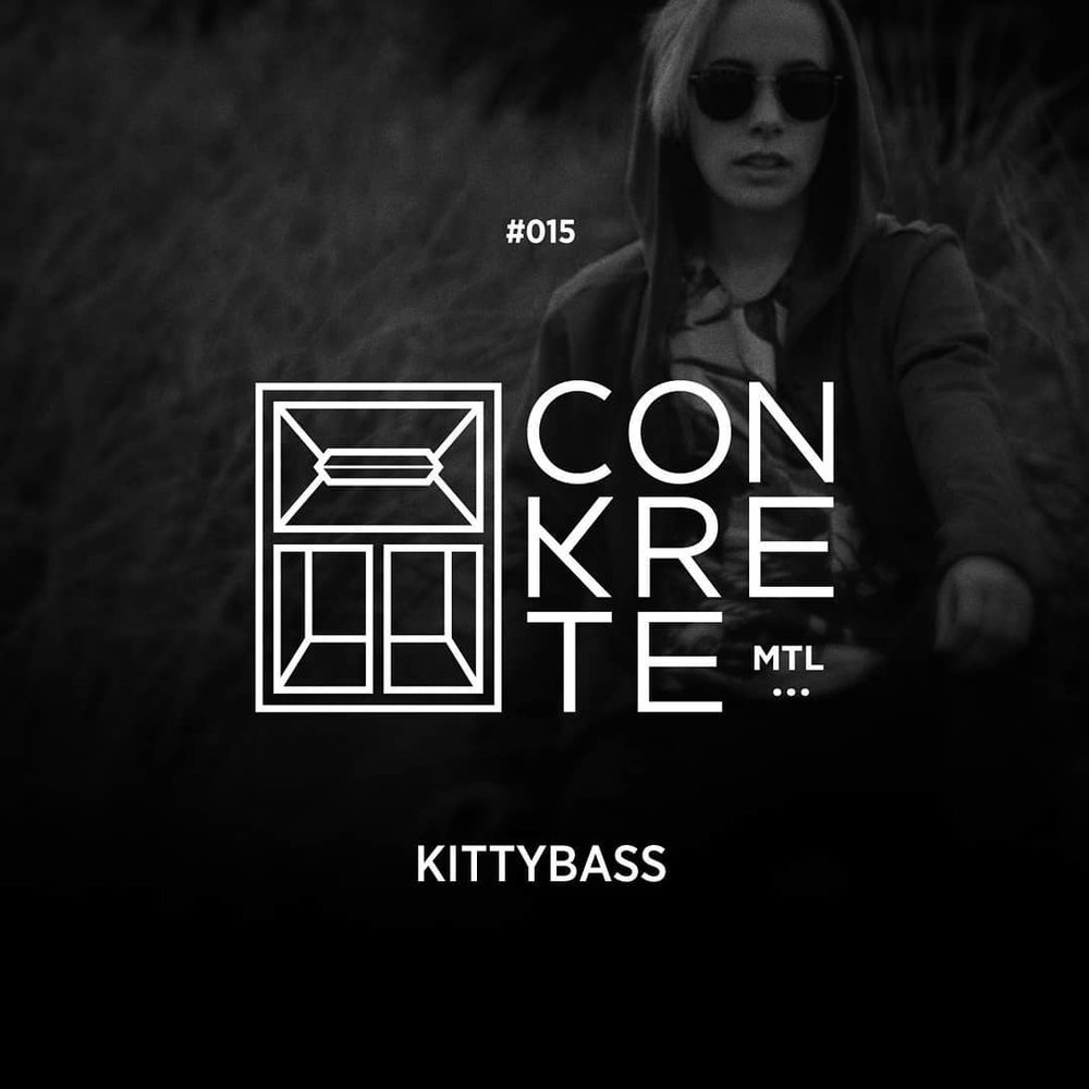 //015 - KittyBass - Watch out cause this kitty got claws! It's with exceptional pride that we are super stoked to release this very heavy hitting editipon 015 by the east coast's one and only, Ms. KittyBass!!The Conkrete Tapes // 015 - KittyBass