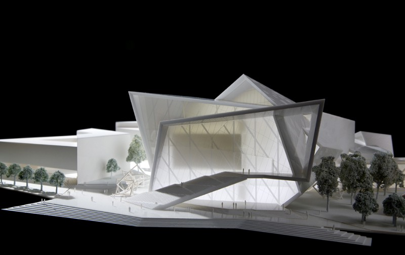 Creative 3D Printed Model of a Proposal for Malmö Concert Hall and Conference Center by Studio Libeskind,Source: radiiinc.com