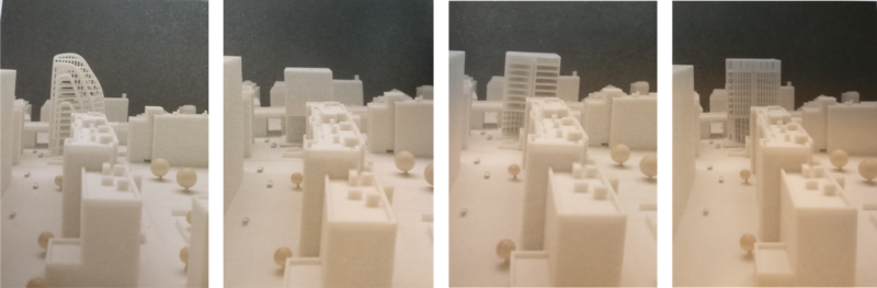 """Picture every idea you have and try out how it fits in its given environment. Source: """"Digital Craft: 3D Printing for Architectural Design"""" by Bryan Ratzlaff"""