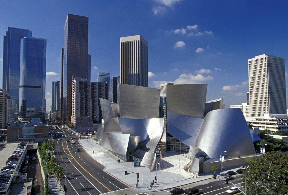 Walt Disney Concert Hall by Frank Gehry.
