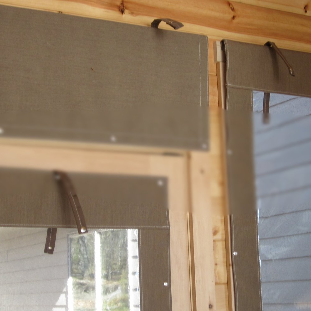 porch blind -