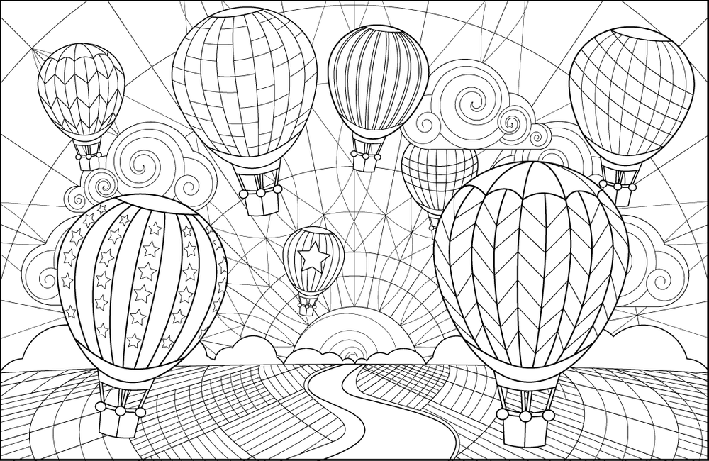 The Creative Colouring Book — Joanna Webster